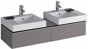 Umyvadlová skříňka KERAMAG ICON Delck - šedá