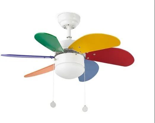 Stropný ventilátor Faro PALAO 33179 multicolor