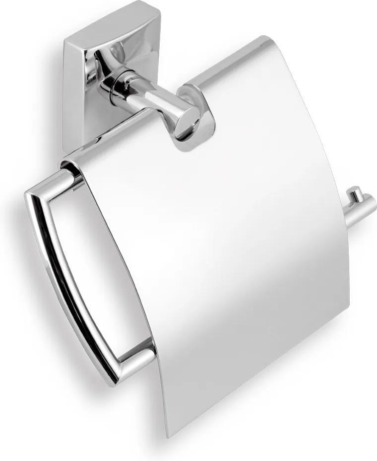 Novaservis Metalia 12 0238,0 držiak toaletného papiera s krytom