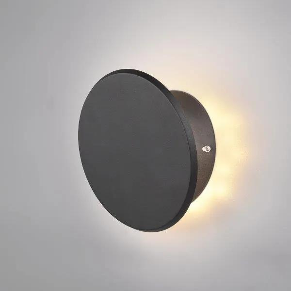 TRIO 222710132 Gaston Nástenné svietidlo 215mm LED 1X8W/700lm 3000K Matná čierna