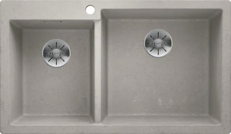 Granitový dvojdrez Blanco PLEON 9 Beton-Style