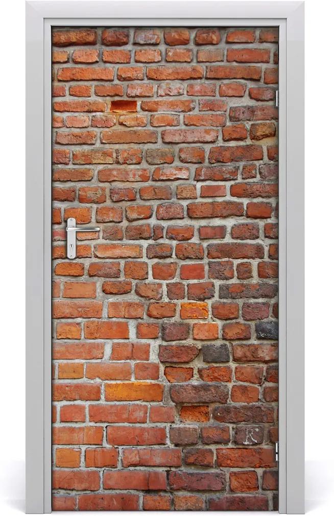 Fototapeta na dveře Cihlová stěna
