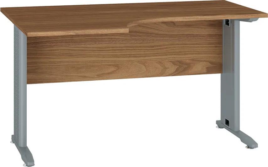 MLnábytok Kancelársky stôl OPTIMAL 14 / orech prírodný