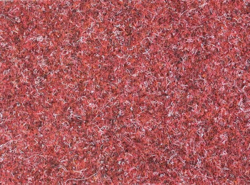 Metrážový koberec Lindau 40 Červený - Rozměr na míru bez obšití cm