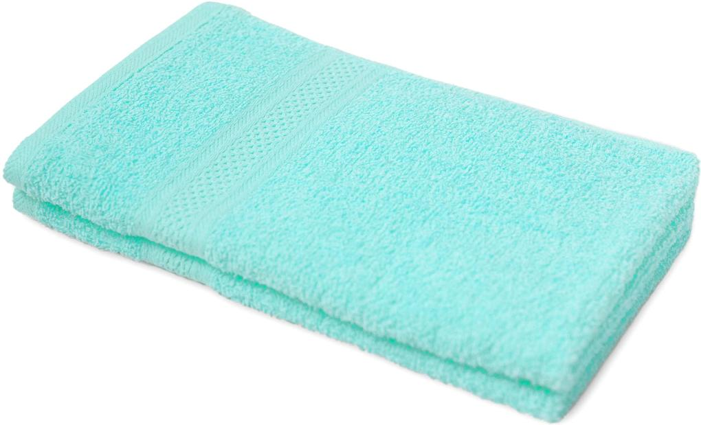 Detský uterák BAMBI svetlo tyrkysová 30x50 cm