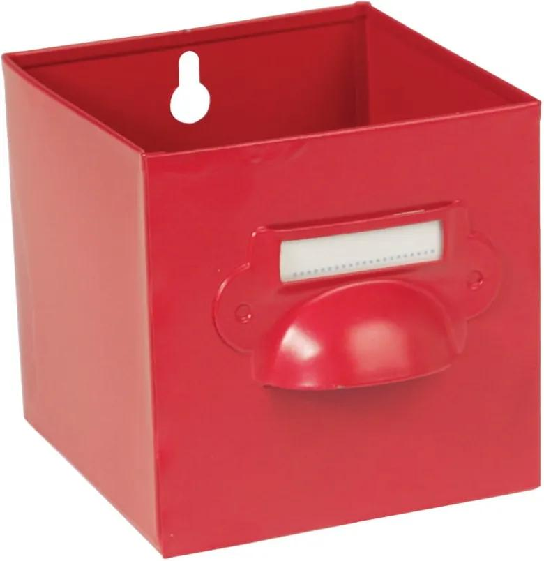 Červená úložná škatuľa Rex London Forties