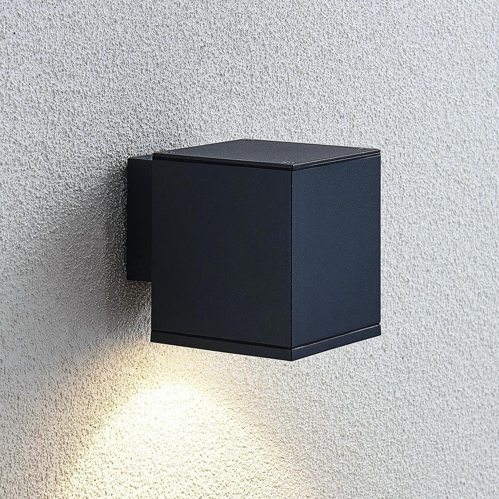 Vonkajšie nástenné LED svietidlo Mekita 1-pl.