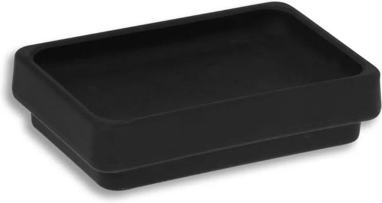 Novaservis Metalia 4 6436/1,5 mydelnička na postavenie čierna