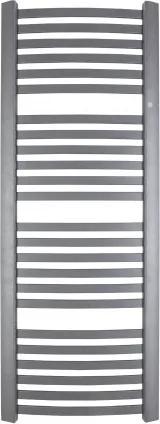 HOPA - Koupelnový radiátor RETTO - 540 × 1072 mm, výkon 520 W, Bílý (C35 white silk), Spodní připojení (RADRET501135)