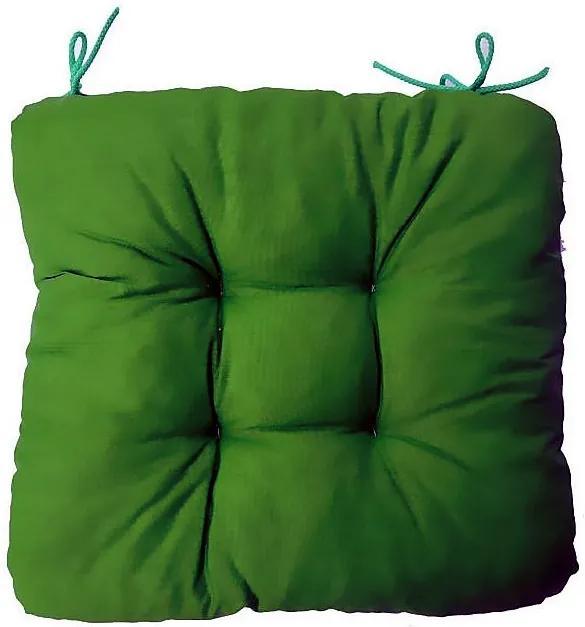 Podložka na stoličku Soft zelená