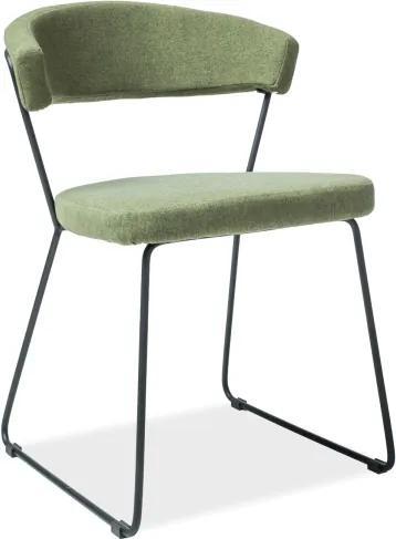 Jedálenská stolička Dakol, zelená