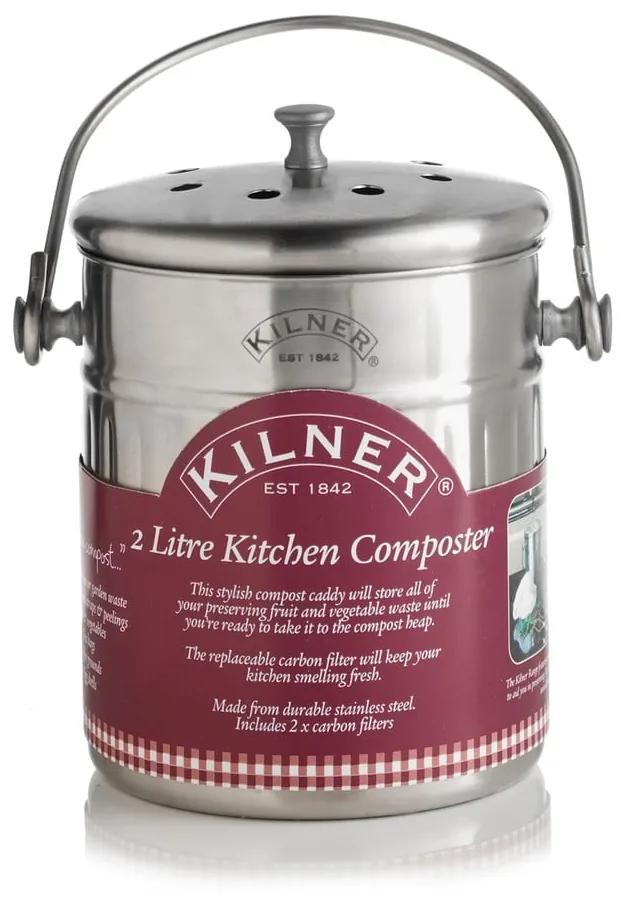 Kuchynský kompostér Kilner, 2 l