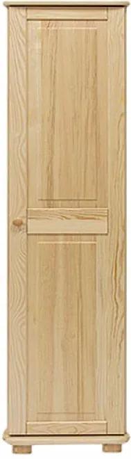 AMI nábytok skříň 1Dč2 borovice věšák