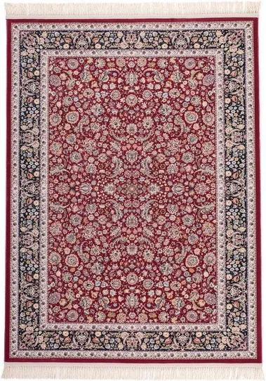 Lalee koberce Kusový koberec Isfahan ISF 902 Red - 80x150 cm