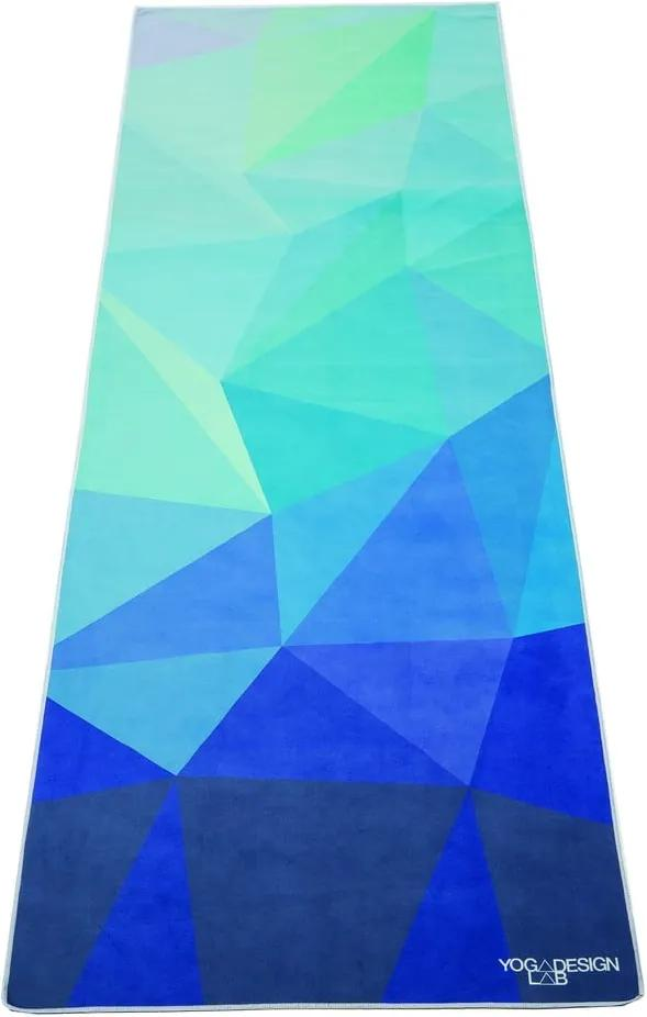 Uterák na jogu Yoga Design Lab Geo Blue
