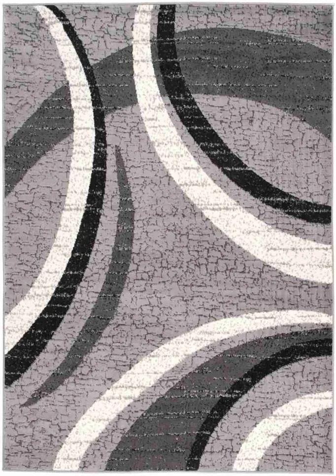 Kusový koberec PP Selma šedý, Velikosti 80x150cm