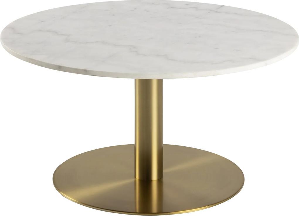 Štýlový konferenčný stolík Aimar, 80 cm