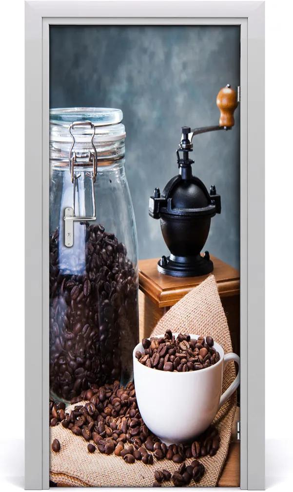 Fototapeta na dveře samolepící Mlýnek na kávu