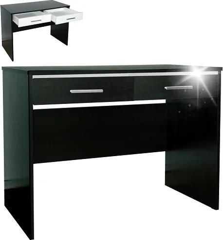 Kancelársky stôl s 2 zásuvkami - Buk