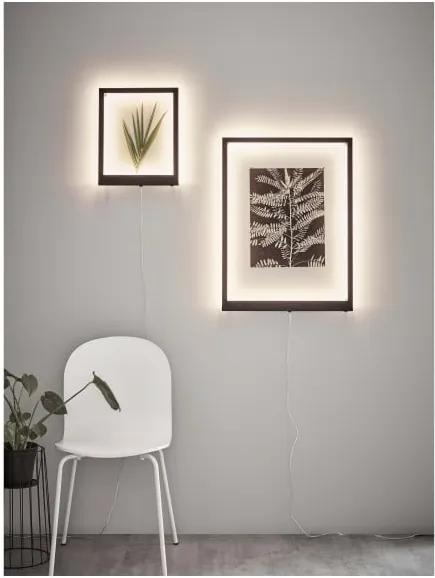 Biely svetelný rám na stenu Markslöjd Frame, 71 x 53 cm