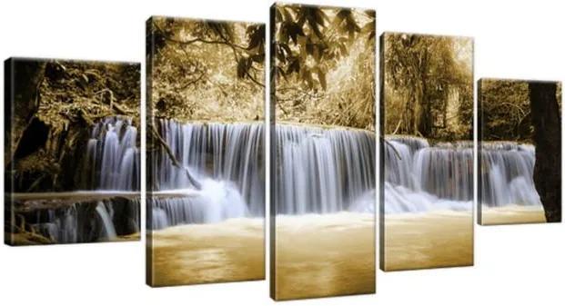 Obraz na plátne Krásny vodopád v Thajsku 150x70cm 1311A_5B