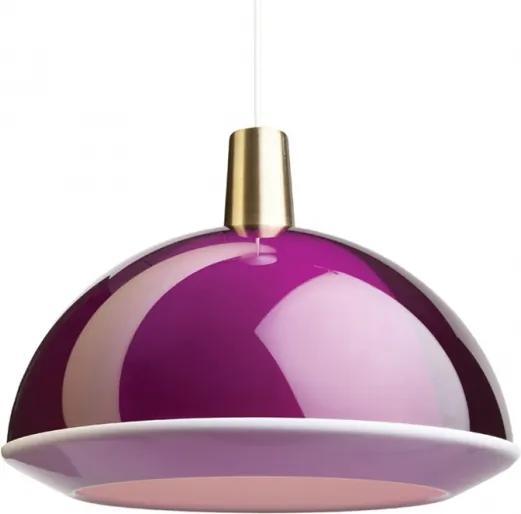 Závesná lampa Kuplat 400, fialová Innolux