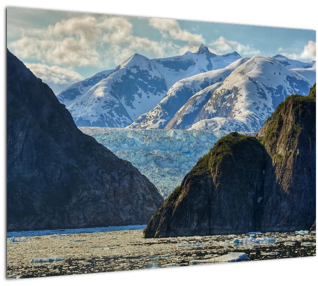 Obraz krajiny s horami (70x50 cm), 40 ďalších rozmerov