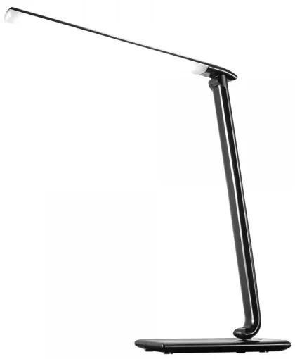 Nastaviteľná stolná LED lampička, stmievacia čierna