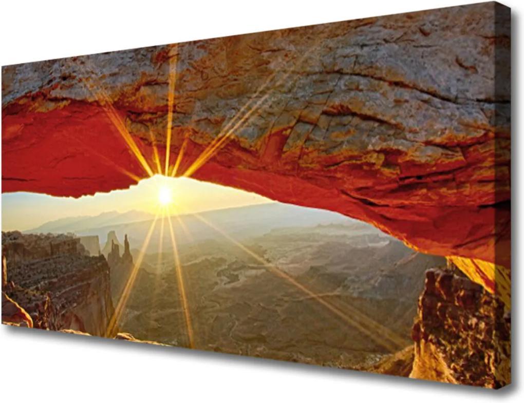 Obraz na plátně Velký kaňon krajina