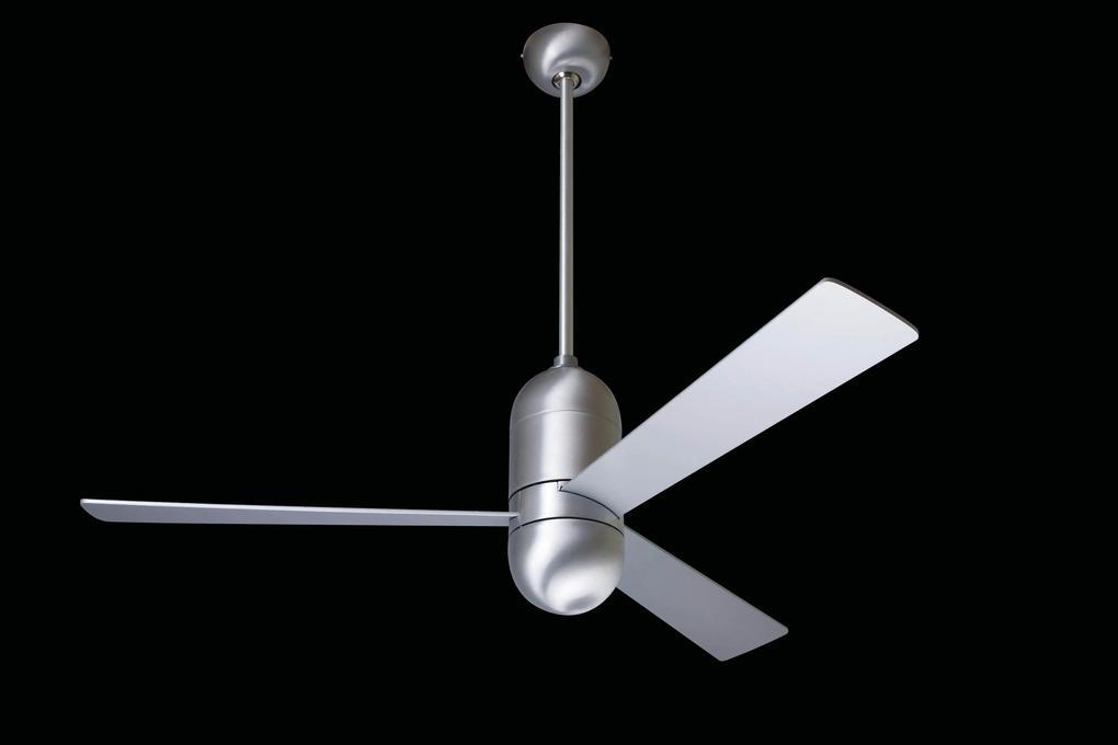 """MODERN FAN EU CIRRUS CIR-BA36ALNL 36"""" leštený hliník/hliník Reverzný stropný ventilátor"""