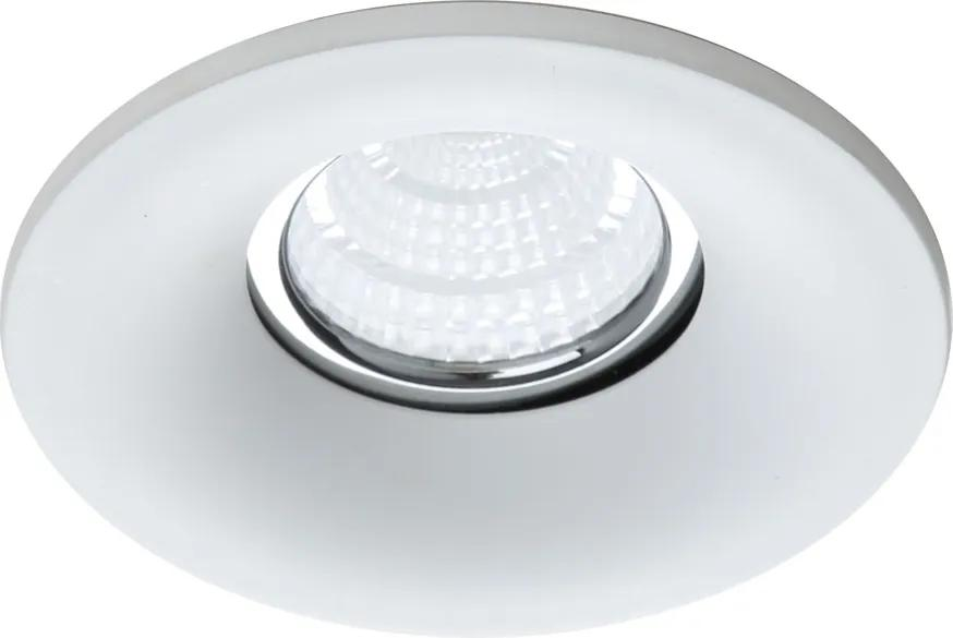 Emithor 71088 ELEGANT METAL zápustné svietidlo GU10 / 50W, biela