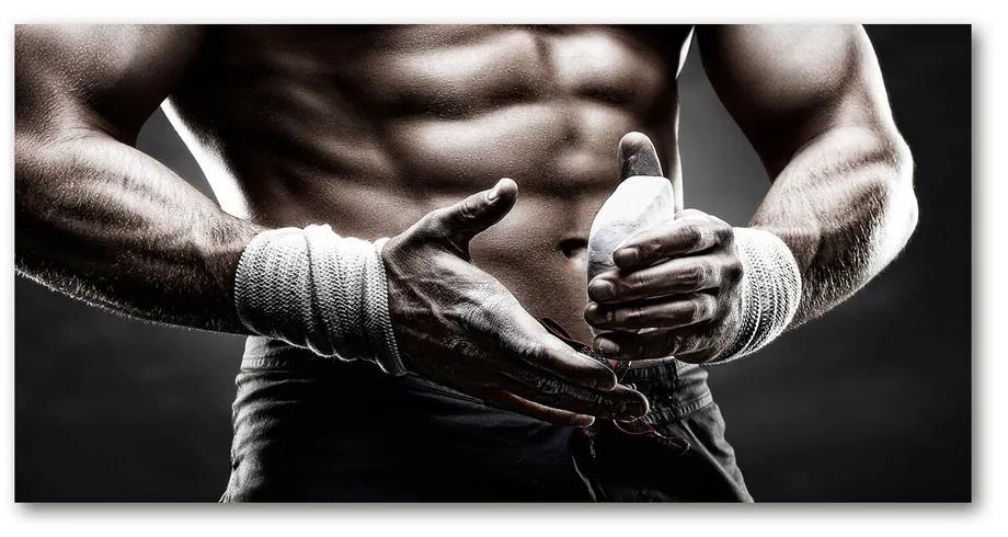 Foto obraz akryl do obývačky Stavba svalov pl-oa-140x70-f-89886964
