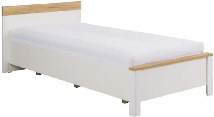 Jednolôžková posteľ Sauki 90x200 cm