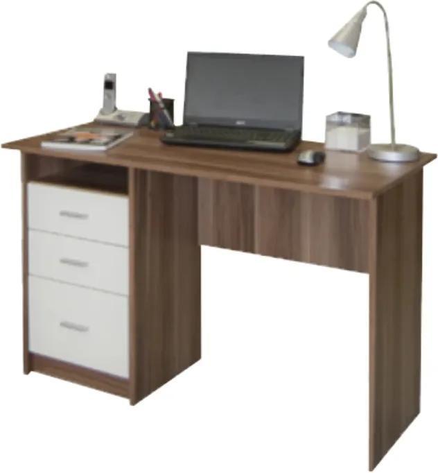 TEMPO KONDELA Samson New pc stolík slivka / biela
