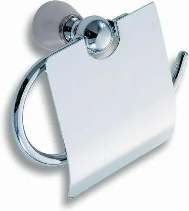 Novaservis Metalia 3 6338,0 držiak toaletného papiera s krytom chróm