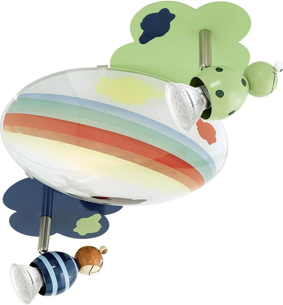 Eglo 93141 TAYA 1 LED 2xGU10/1xE27 detské bodové svietidlo