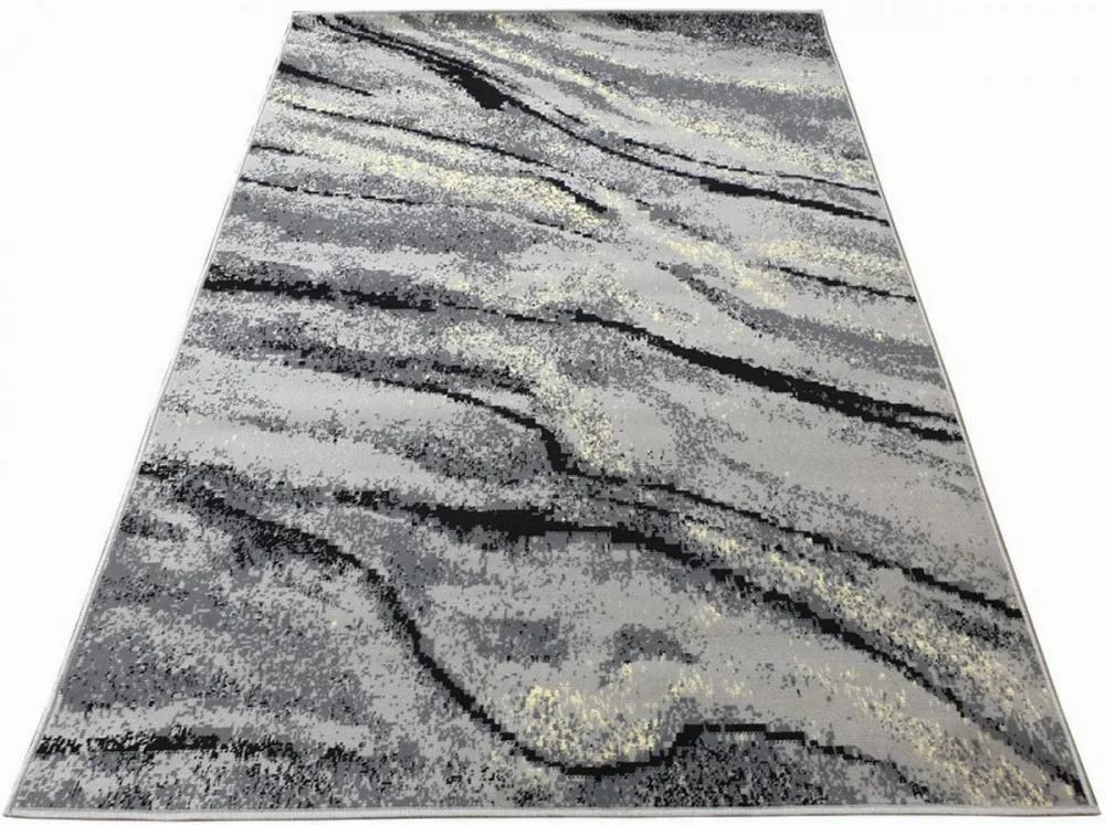 Kusový koberec PP Luisa sivý, Velikosti 80x150cm