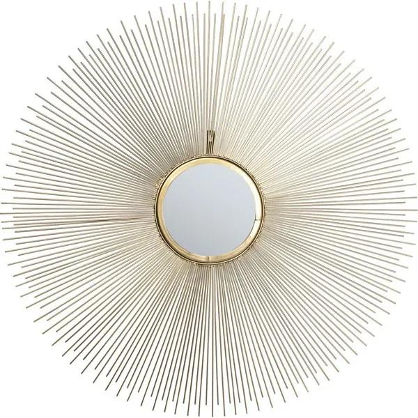 KARE DESIGN Zrkadlo Sunbeam Ø90 cm