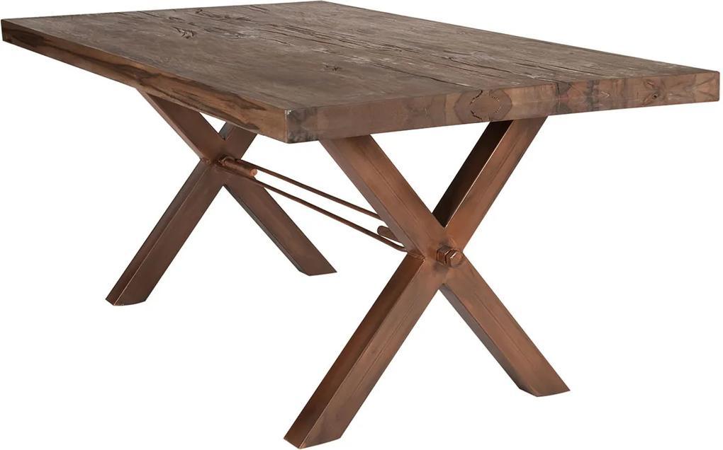 SIT MÖBEL Jedálenský stôl TABLES & BENCHES MASSIVE X 180 × 100 × 76 cm
