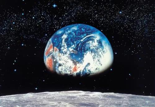 Fototapety, rozmer 388 x 270 cm, Earth/Moon, Komar 8-019