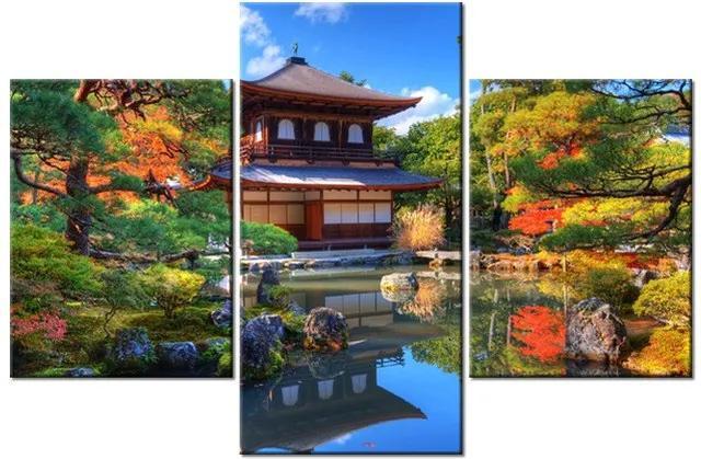 Tlačený obraz Farebná záhrada 90x60cm 1208A_3B