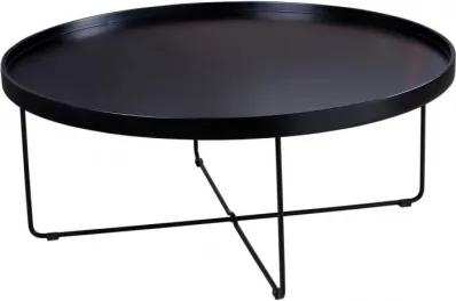 BRUNO stolík Čierna
