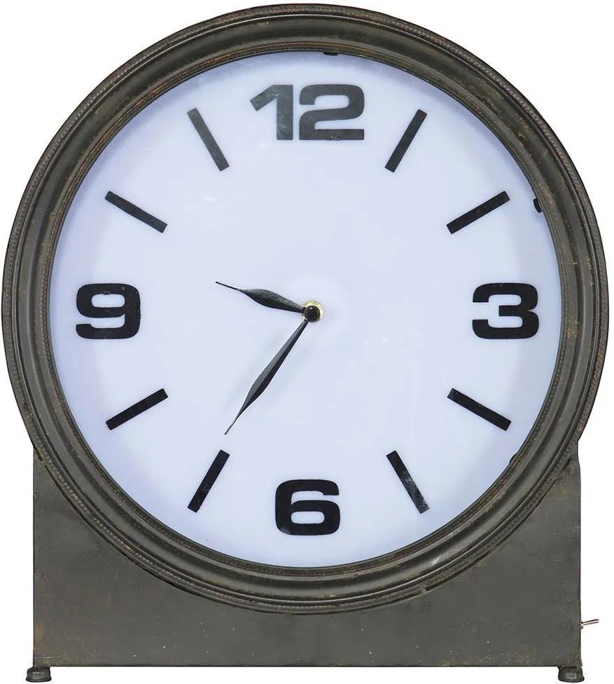 BEPUREHOME Kovové stolné hodiny Angeless