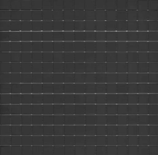 Sklenená mozaika Premium Mosaic černá 33x33 cm lesk MOS20BKHM