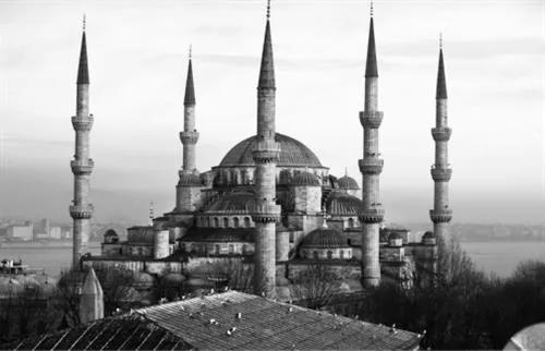 Luxusné vliesové fototapety, rozmer 418,5 cm x 270 cm, Istanbul, P+S International CL41B