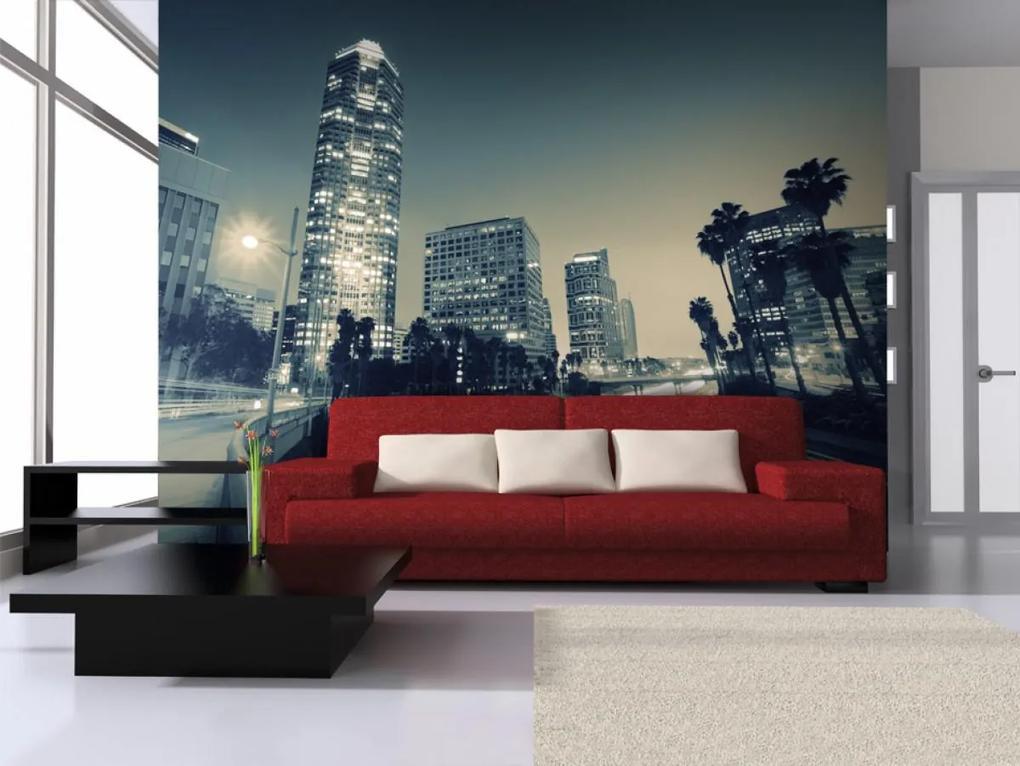 Murando DeLuxe Fototapeta ulice v Los Angeles 150x116 cm
