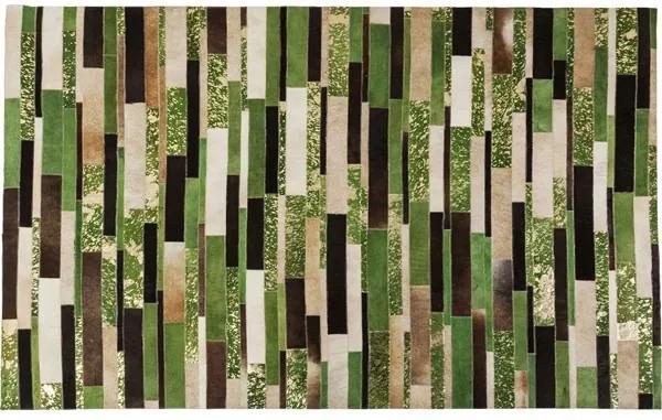 KARE DESIGN Koberec Brick Green 170 × 240 cm