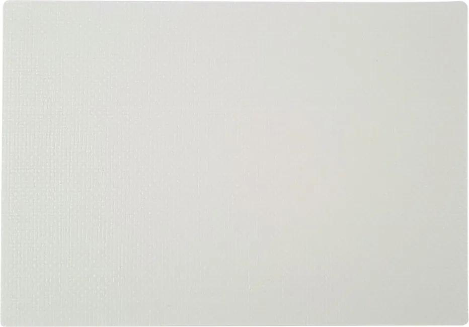 Biele prestieranie Saleen Coolorista, 45 × 32,5 cm