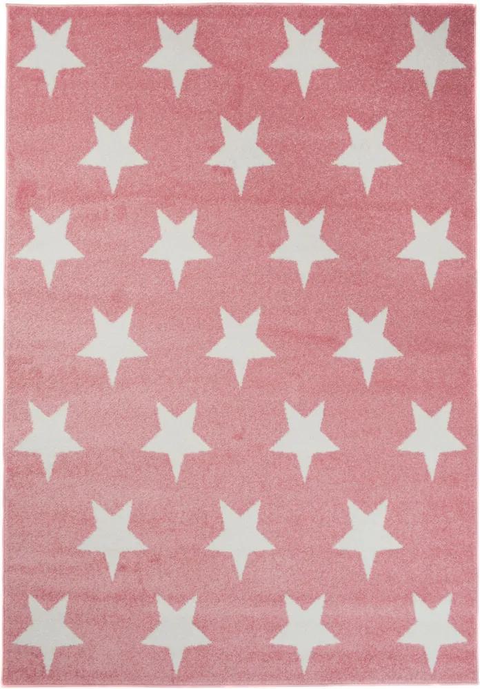 Kusový koberec Happy ružový, Velikosti 80x150cm