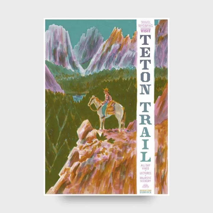 TAKE TAKE TAKE Plagát B2 Teton Trail